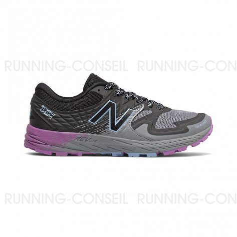 NEW BALANCE SUMMIT K.O.M. Femme - Steel with Black & Team Carolina