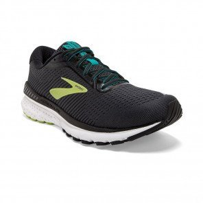 BROOKS Adrenaline GTS 20 Homme Black/Lime/Blue Grass
