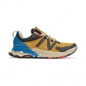 NEW BALANCE Fresh Foam Hierro v5 (D) Homme Varsity Gold with Neo Classic Blue & Phantom