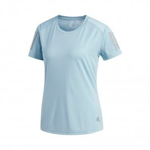 ADIDAS Tee-Shirt OWN THE RUN Femme | ASH GREY S18 | Collection Printemps-Été 2019